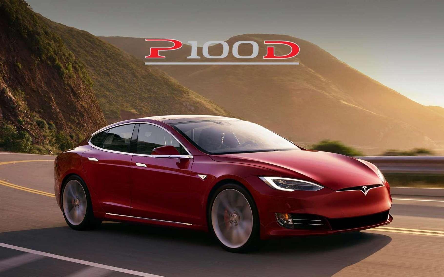 Le siège de Tesla, constructeur de voitures électriques, se situe à Palo Alto, en Californie (États-Unis). Ici, une voiture Tesla. © Tesla