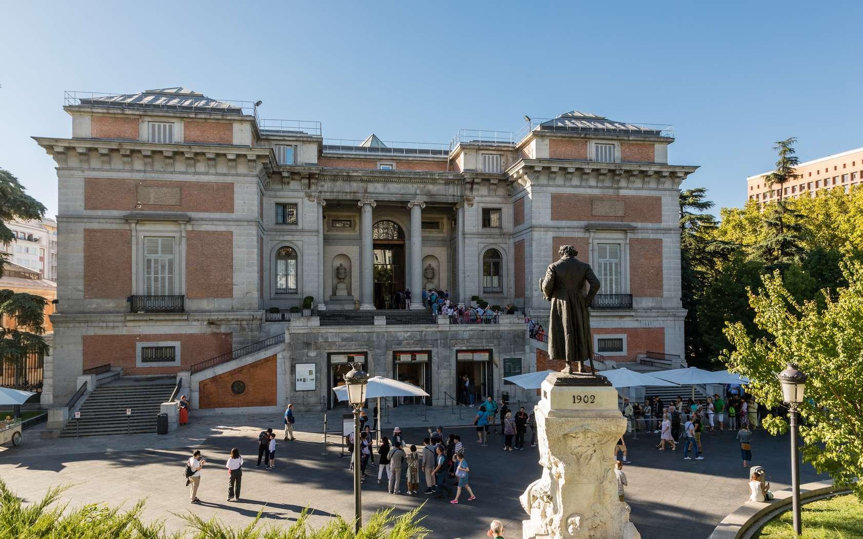 L'entrée du musée du Prado à Madrid. © josevgluis, fotolia
