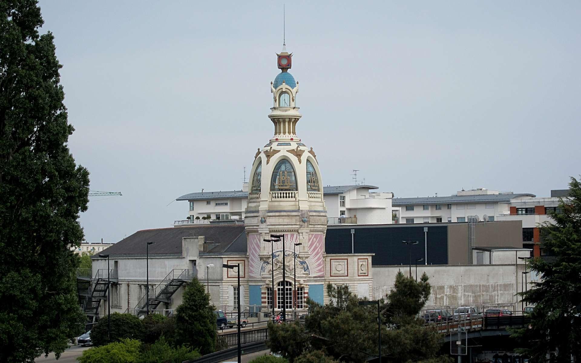 Le Lieu unique, à Nantes, dans l'ancienne biscuiterie LU © Velvet, Wikimedia Commons, CC by-sa 3.0, 2.5, 2.0, 1.0