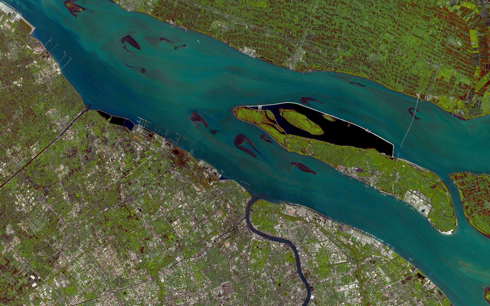 Cette image a été prise par Spot 5 le 25 juin 2009, avec une résolution de 10 mètres. Spot 5 a été lancé par le Centre national d'études spatiales (Cnes), l'Agence spatiale française, et son imagerie est commercialisée par Spot Image. © Cnes/Spot Image/Esa