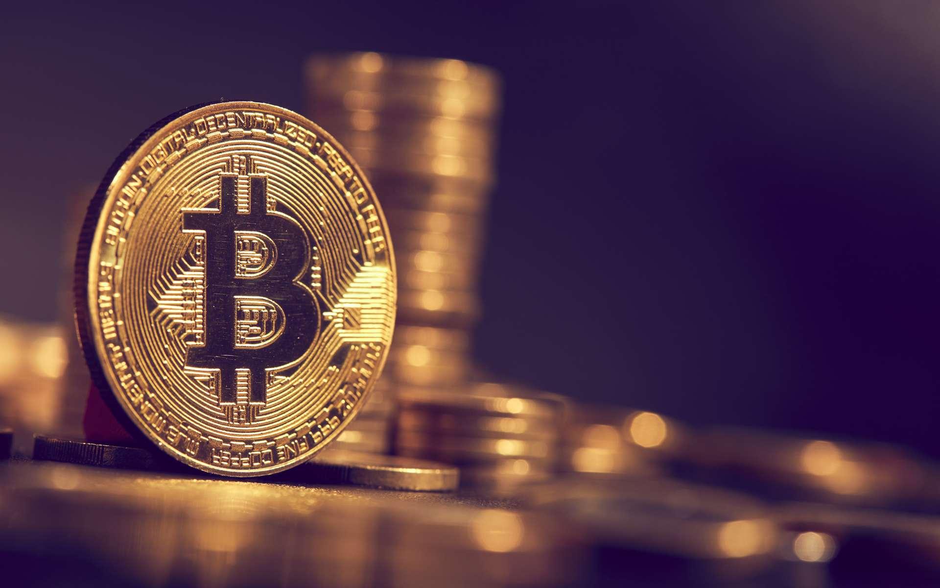 La valeur du bitcoin dépasse pour la première fois les 40.000 dollars. © fox17, Adobe Stock