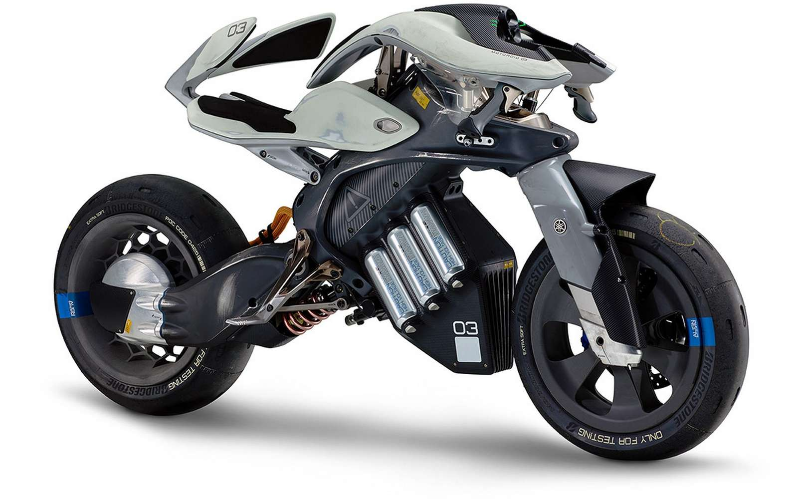 La Motoroid de Yamaha est un concept de développement. © Yamaha
