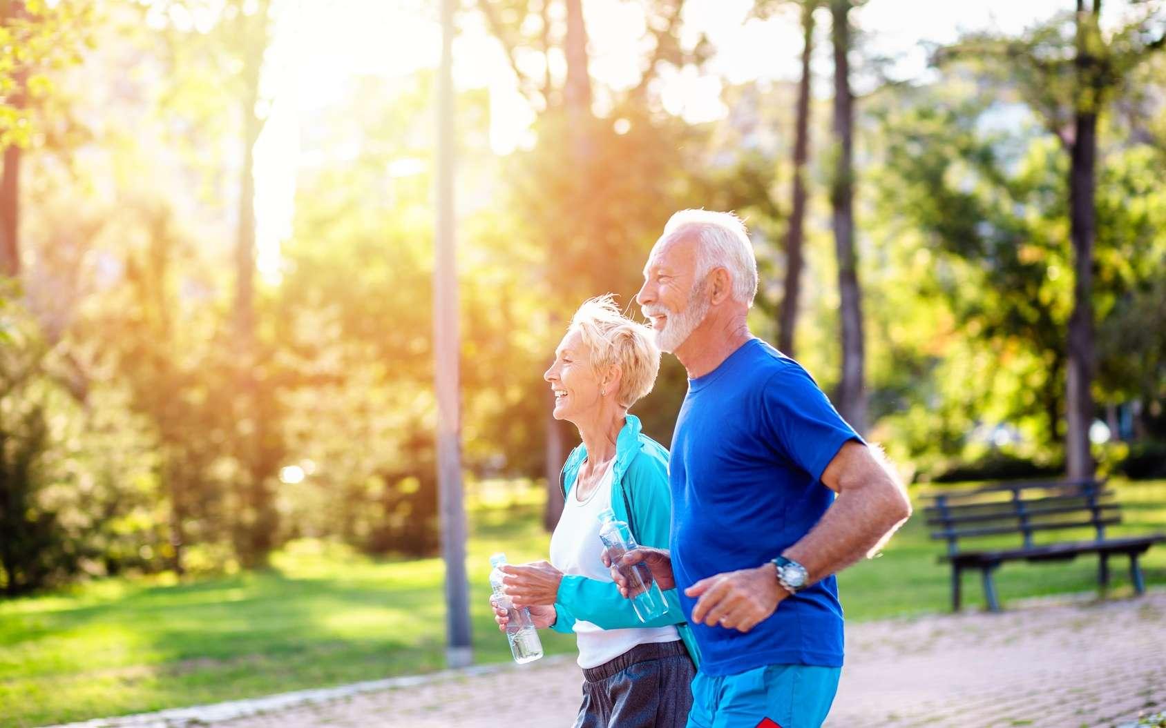 Le jogging aiderait à garder des cellules jeunes. © hedgehog94, Fotolia