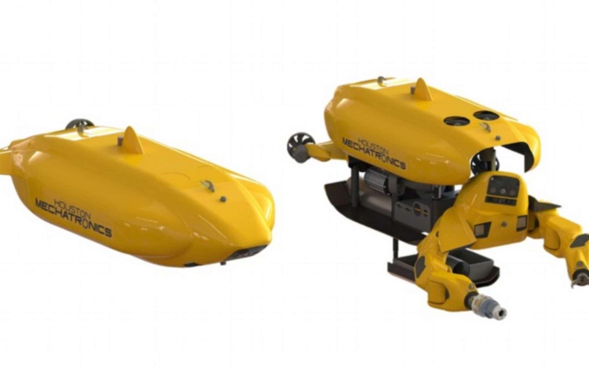 Aquanaut, le nouveau robot sous-marin conçu par les ingénieurs chez HMI. © IEEE Spectrum