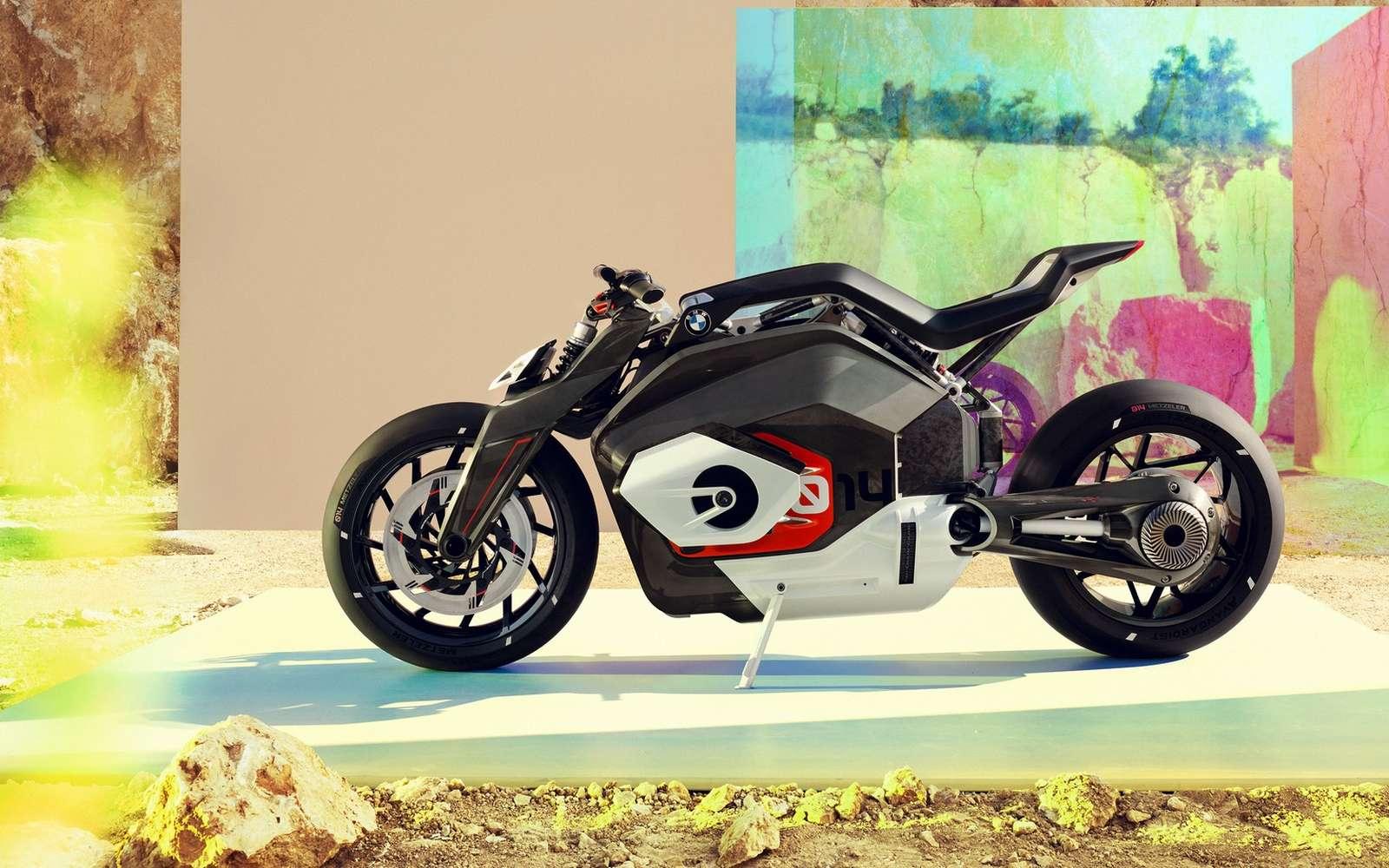 Le Vision DC Roadster de BMW. © BMW Motorrad