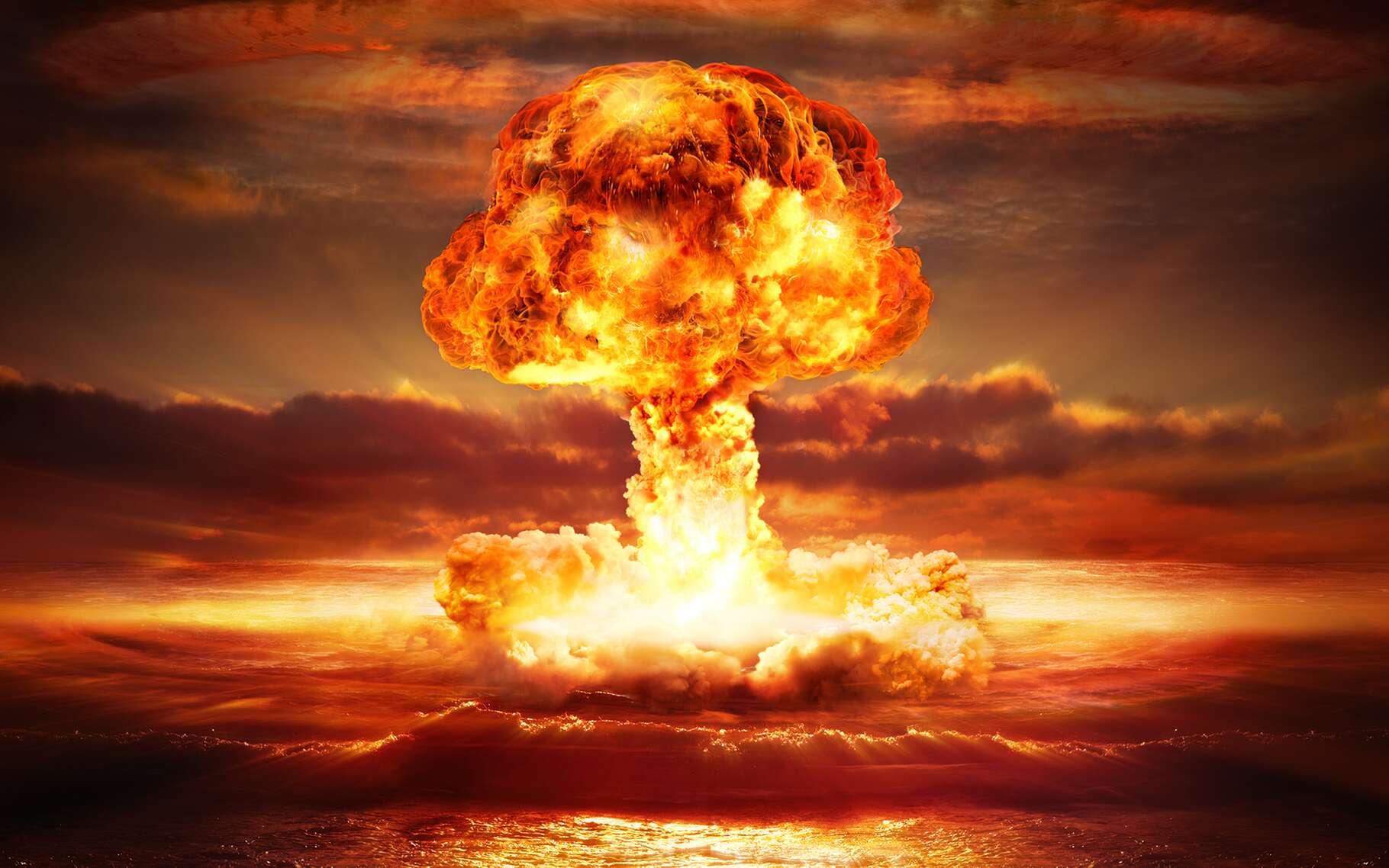 Ivy Mike, la première bombe à hydrogène ou bombe H, a explosé le 1er novembre 1952. © Romolo Tavani, Shutterstock