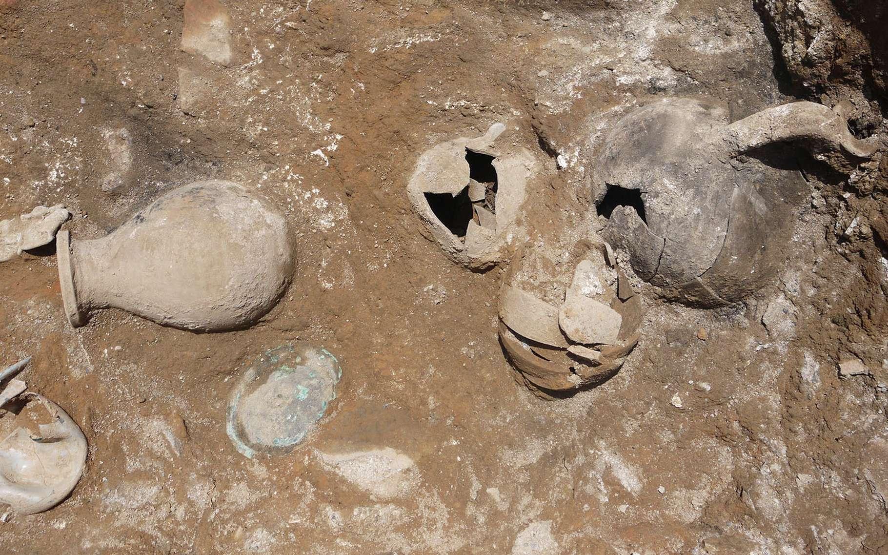 À Dyrrachium, les techniques les plus modernes sont mises en œuvre pour la recherche archéologique. © Catherine Abadie-Reynal, tous droits réservés