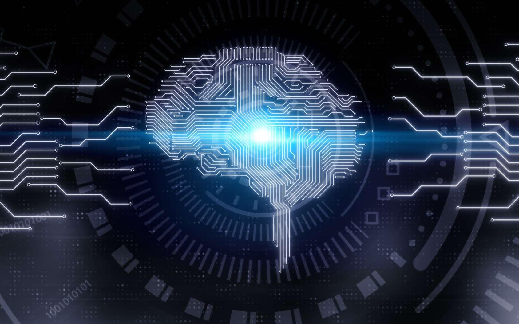 Une nouvelle interface neuronale directe s'appuie sur le machine learning pour s'améliorer d'elle-même. © peshkova, Fotolia
