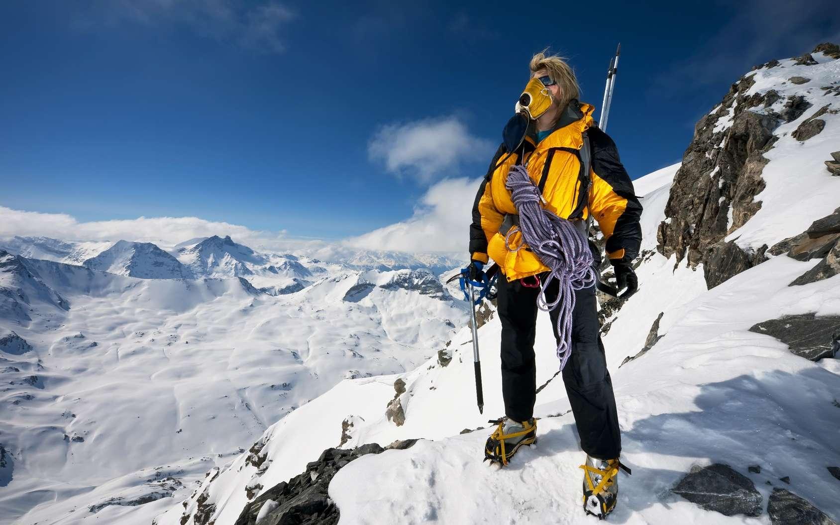 L'hypoxie peut toucher les alpinistes à haute altitude. © Rapt.Tv, Fotolia