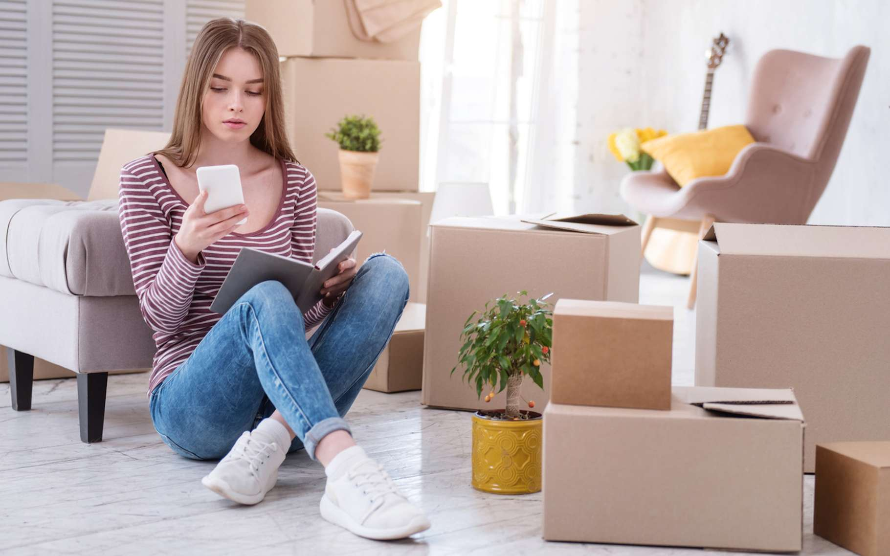 Lors d'un déménagement, les démarches à entreprendre pour ouvrir un contrat d'électricité sont généralement très simples. © zinkevych, Fotolia