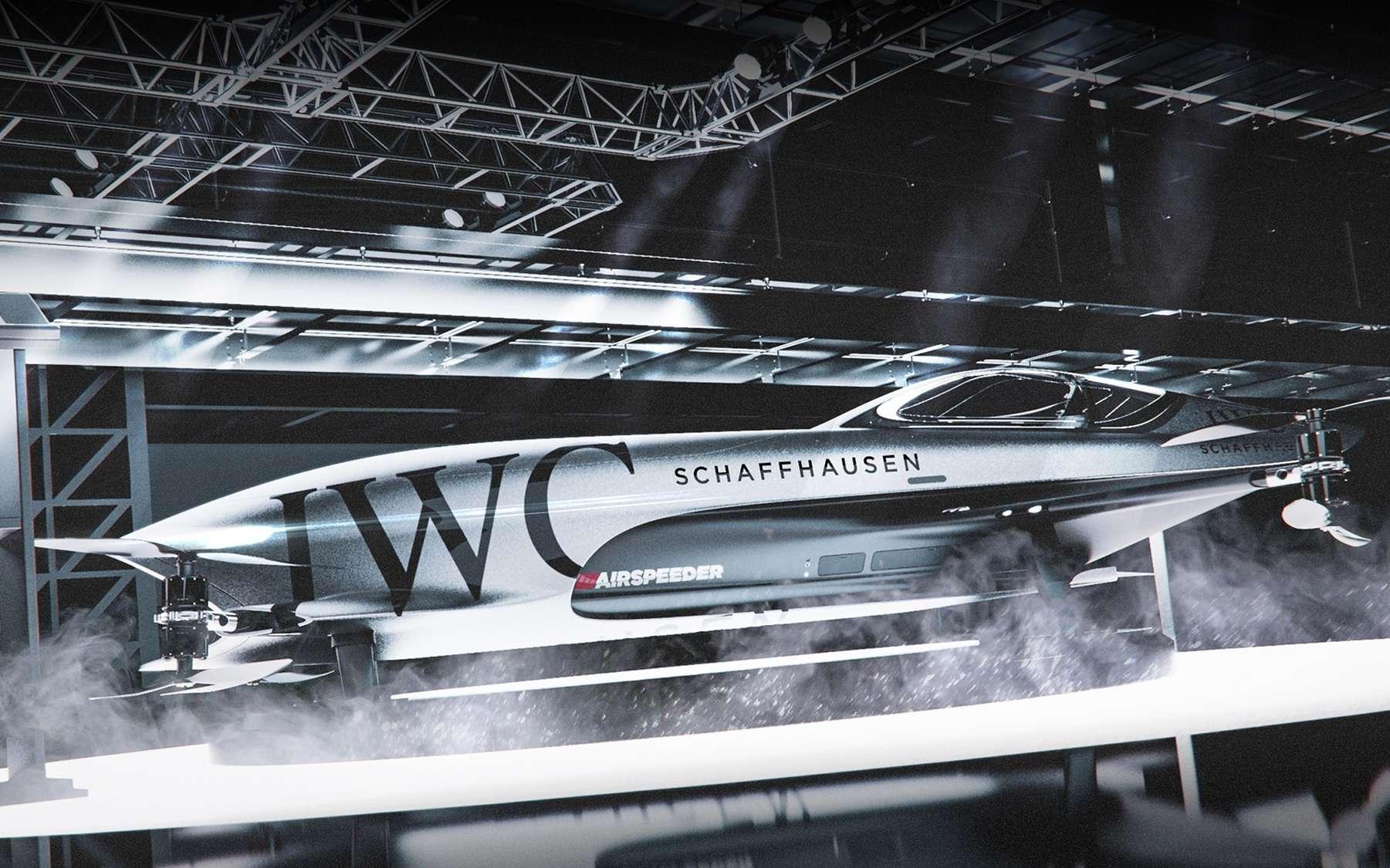 Les courses de voitures volantes électriques Airspeeder sur le point de débuter - Futura