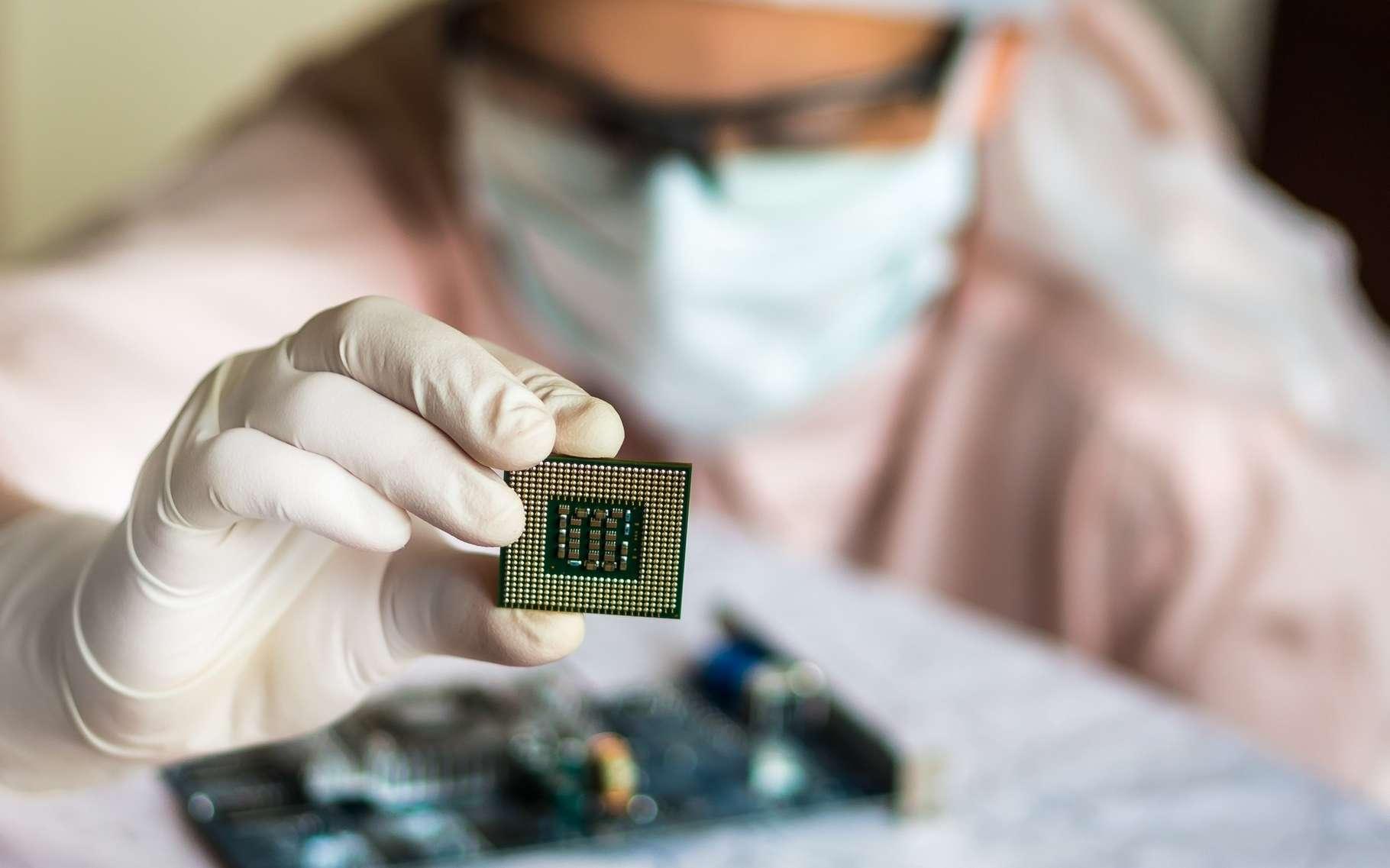 Le processeur de Singular Chip pourrait trouver une utilité dans les applications d'intelligence artificielle chargées d'appréhender le réel. © Andriano.cz, Shutterstock