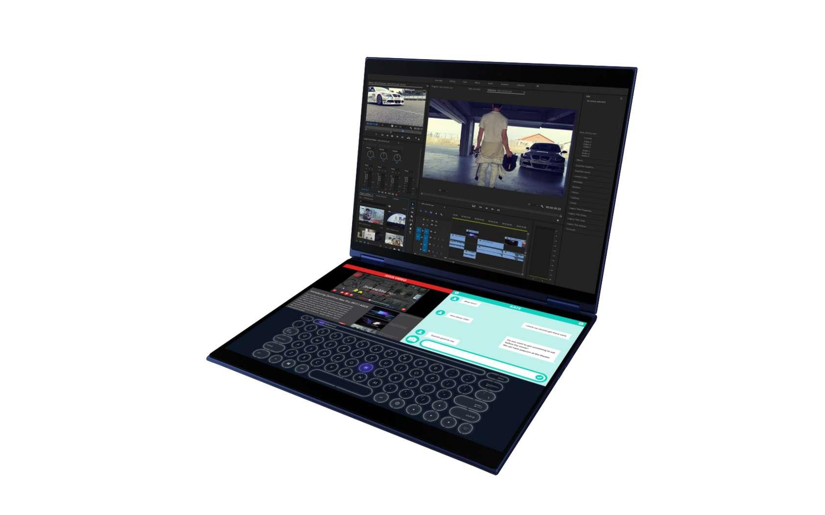 Le PC portable hybride Precog, d'Asus. © Asus