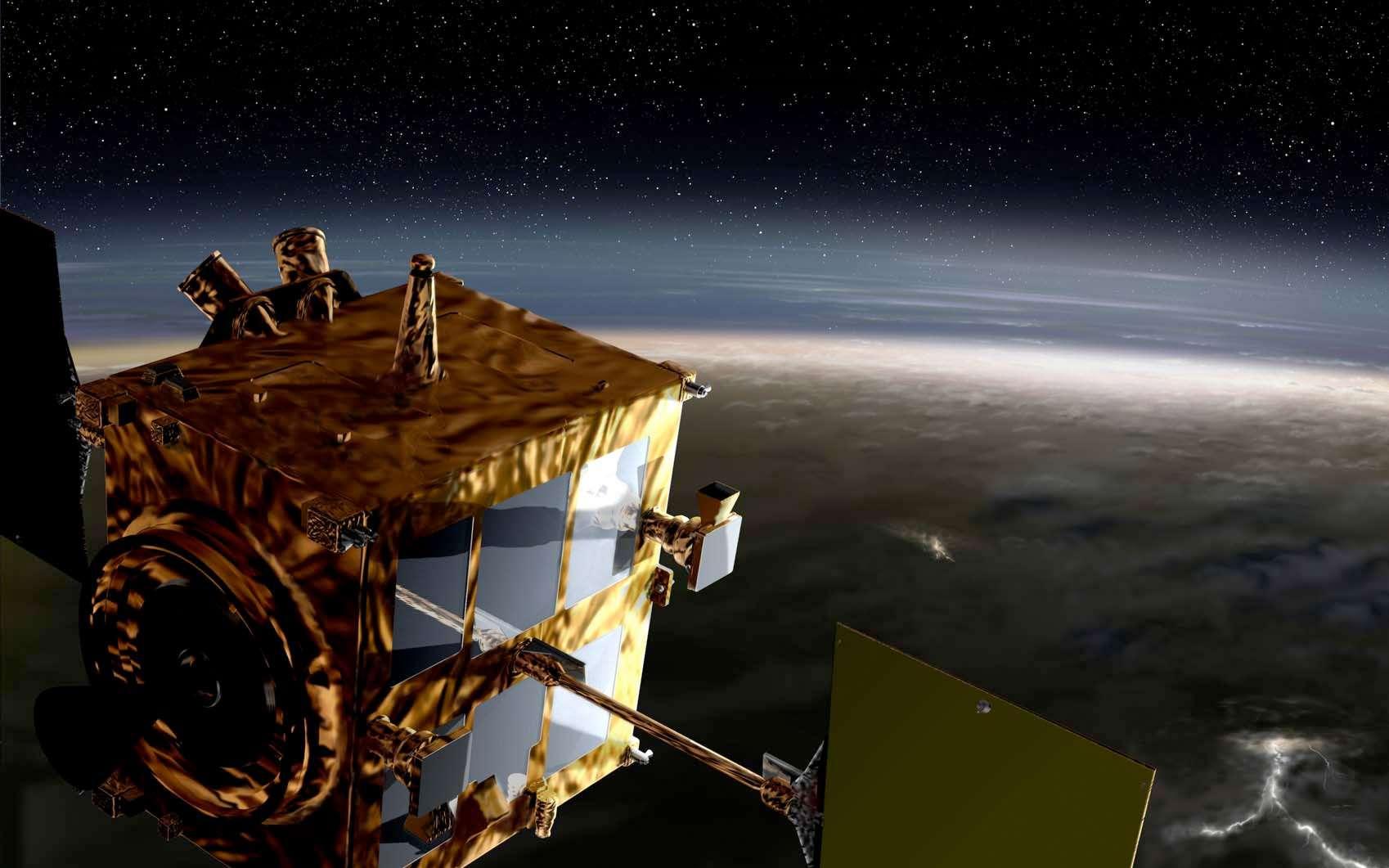 Après l'échec de la satellisation de la sonde Akatsuki autour de Vénus et pour ne pas perdre la mission, la Jaxa a planifié une autre tentative en décembre 2016. Mais d'ici là, la sonde s'approchera à plusieurs reprises du Soleil où elle sera exposée à des températures pour lesquelles elle n'a pas été conçue. Le risque est donc grand de perdre la mission. © Jaxa