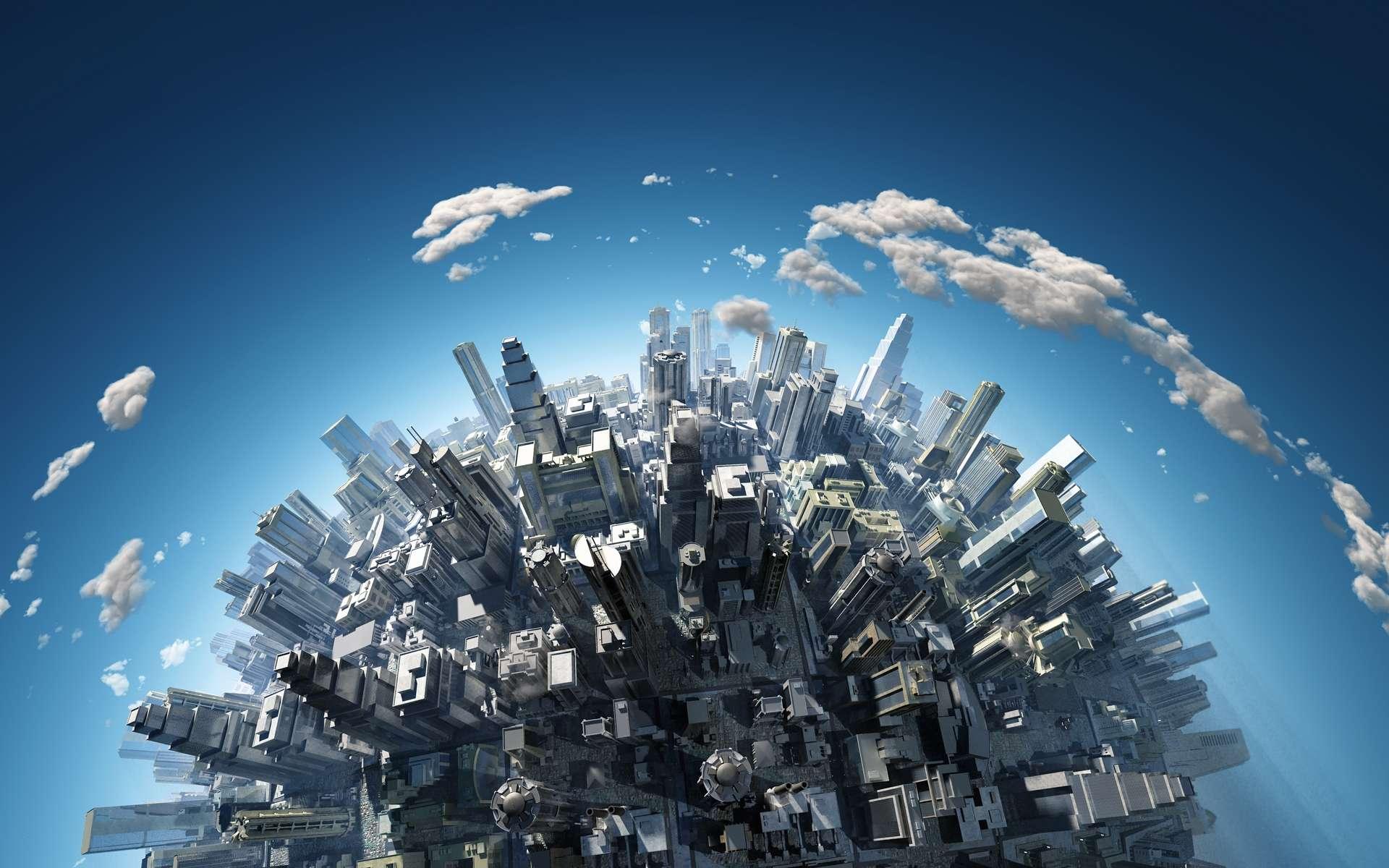 Le poids des objets humains dépasse celui de l'ensemble du vivant. © Photobank, Adobe Stock
