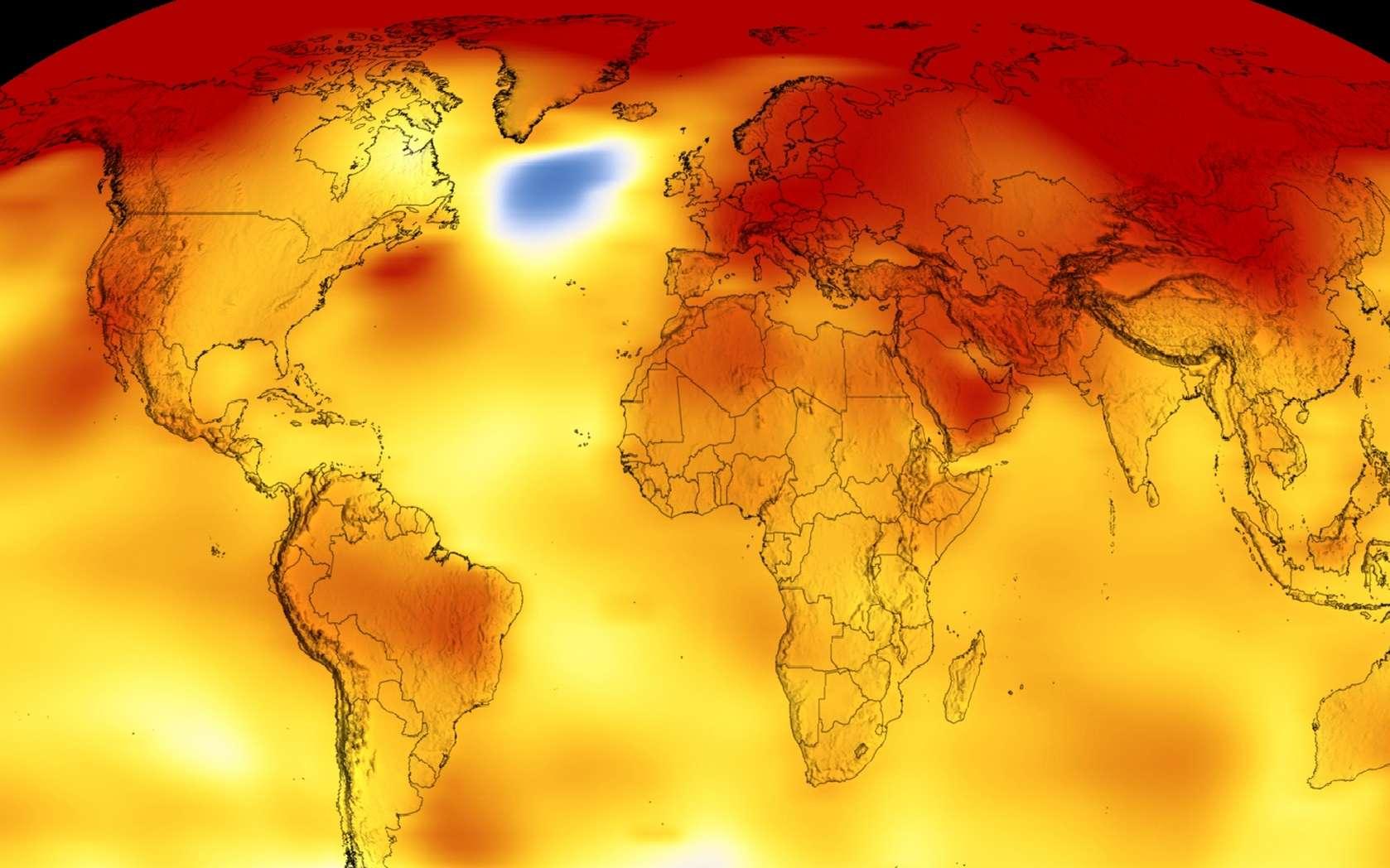 Pas de doutes : la Terre se réchauffe, comme le montrent les dernières visualisations de la Nasa