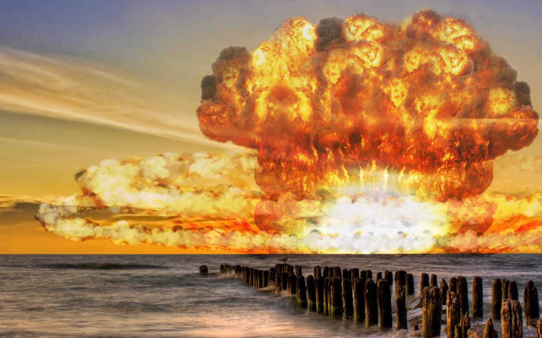 Bombardement cosmique, guerre nucléaire, météorite géante, famine mondiale... La fin du monde est-elle pour demain ? © fotolia