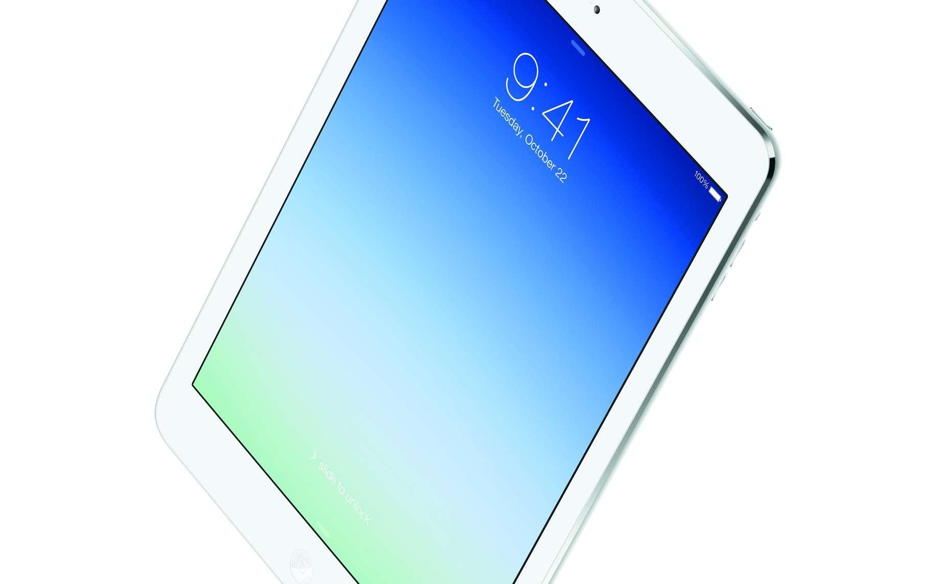La cinquième génération d'iPad a été rebaptisée iPad Air pour illustrer l'important travail réalisé pour gagner en finesse et en poids. © Apple