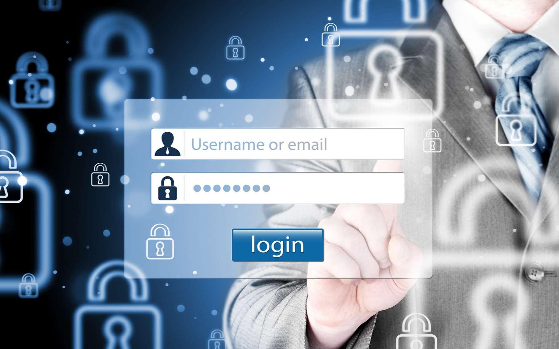 Les mots de passe sont un moyen de sécuriser l'accès aux données. © Nata-Lia, Shutterstock