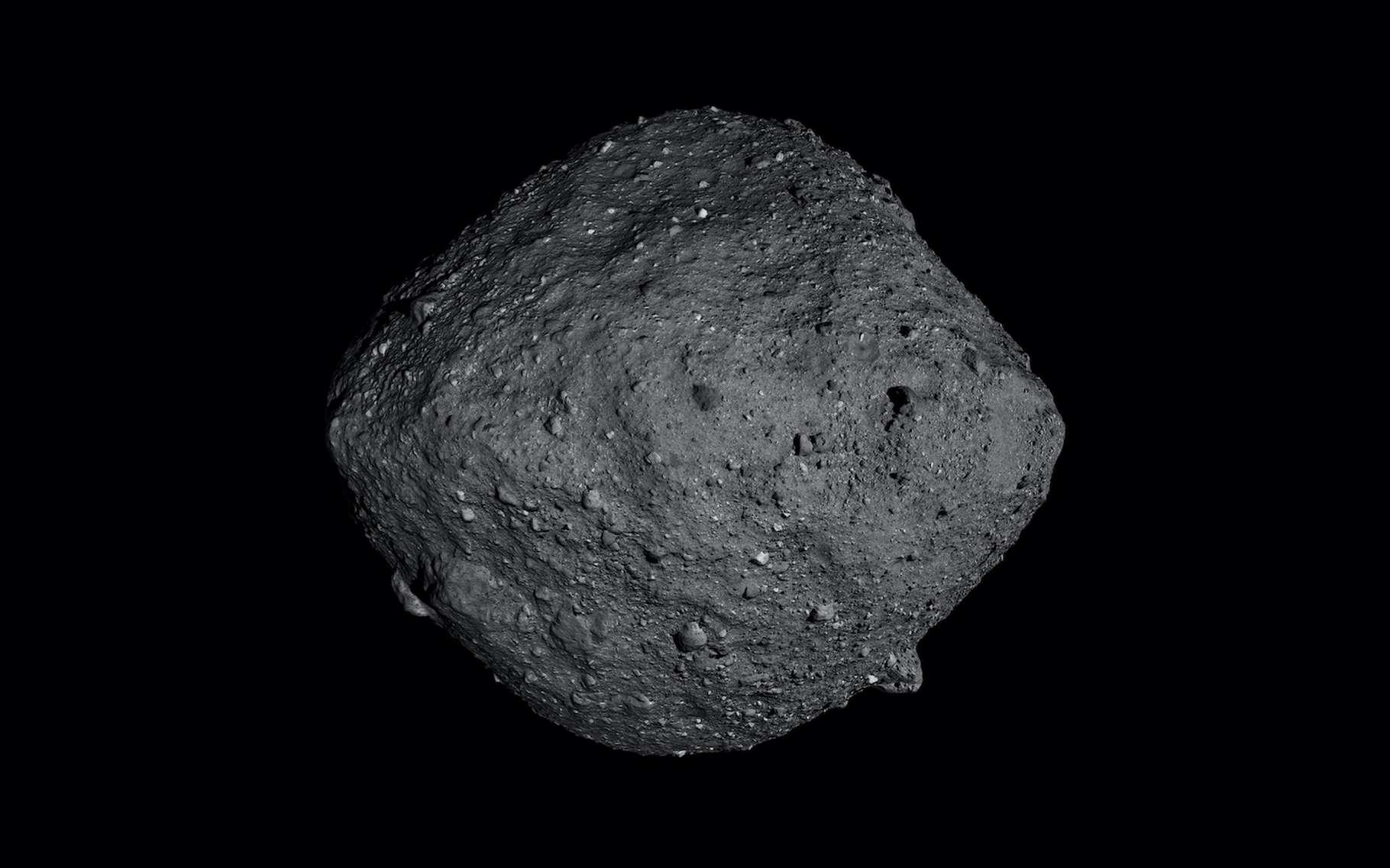 Les ingénieurs de la Nasa se préparent à poser la sonde Osiris-Rex sur l'astéroïde Bennu afin de prélever des échantillons de roche. Ce sera le 20 octobre prochain. © Nasa, Goddard, SVS