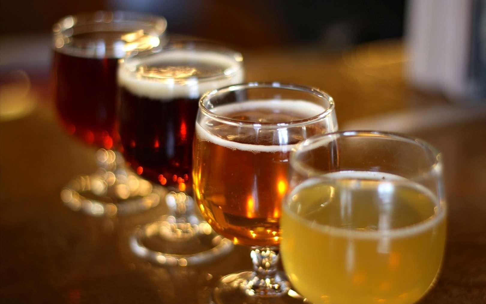 En ajoutant des molécules qui retiennent l'eau, des chercheurs australiens ont concocté une bière qui ne déshydrate pas. Cette boisson miracle limiterait ainsi considérablement la gueule de bois. © Justin C Lenk, Fotopedia, cc by nc nd 2.0