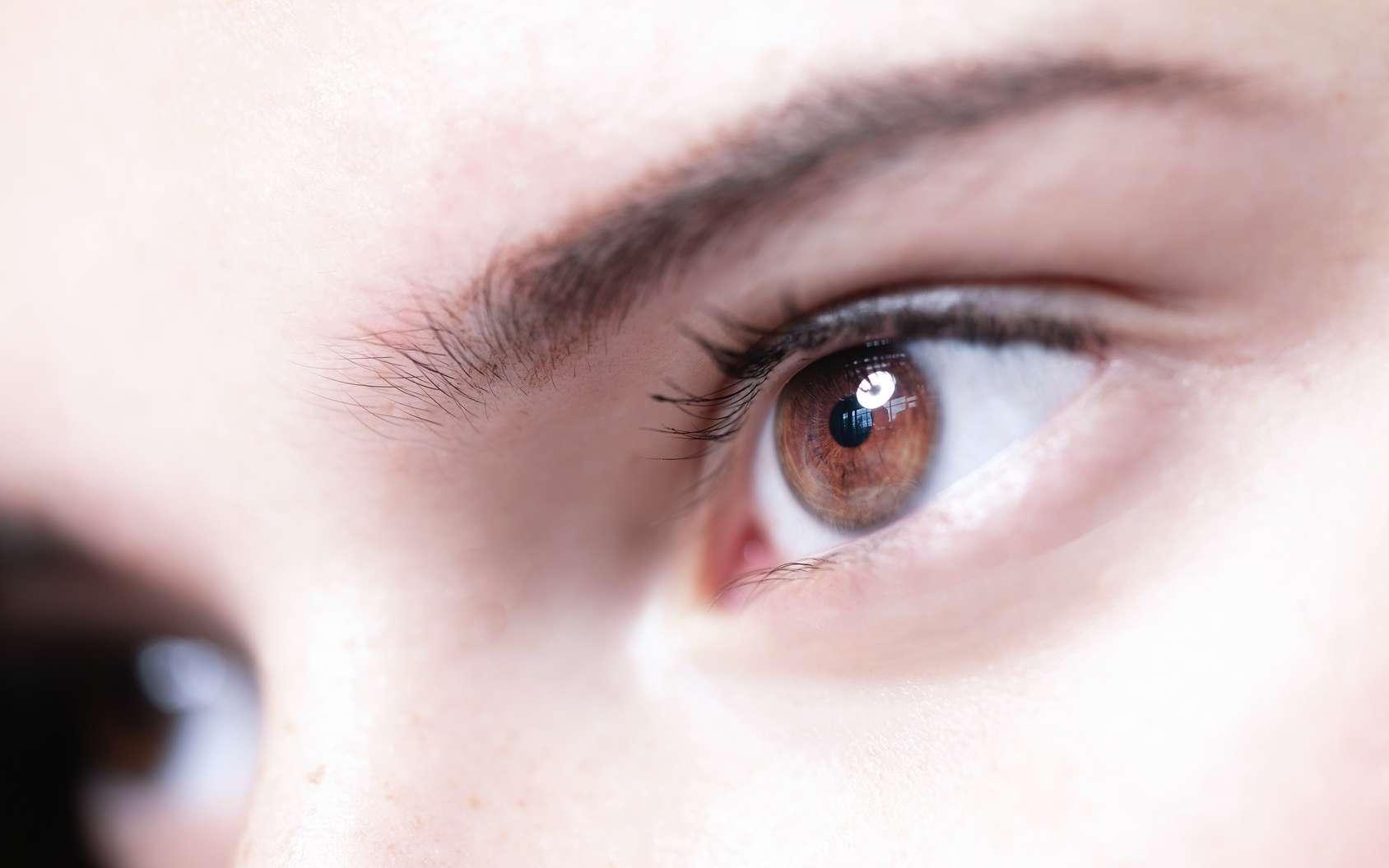 Les yeux marron seraient plus à risque pour la dépression saisonnière. © stockaboo, Fotolia