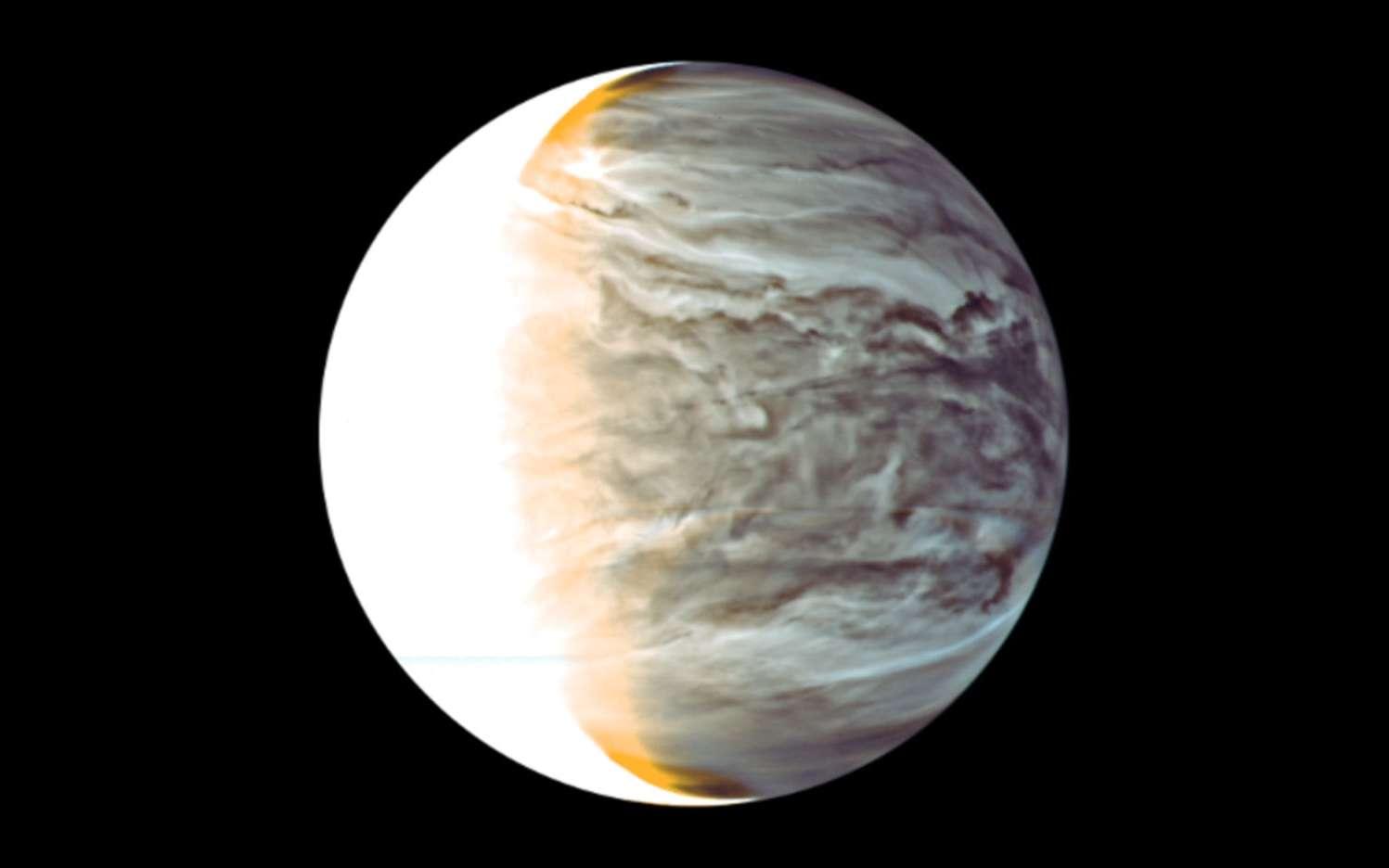 Notre voisine Vénus photographiée par la sonde Akatsuki. © Isas, Jaxa