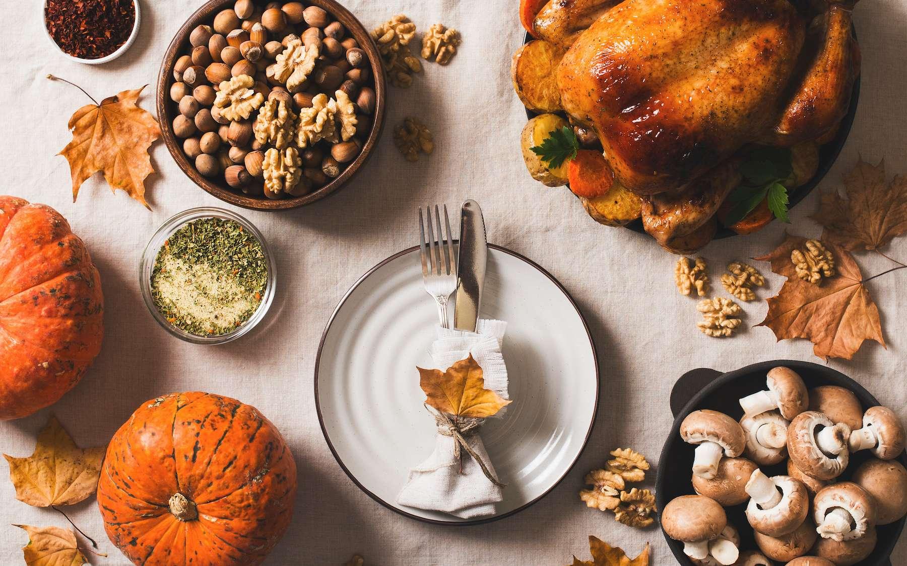 Courges, volaille, champignons et fruits de mer : que savourer en novembre ? © Denira, Adobe Stock