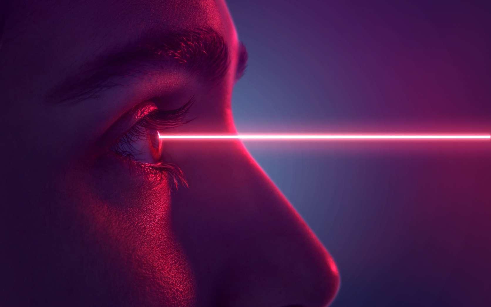 L'invention de chercheurs de l'université de Saint Andrews (Écosse) pourrait bientôt faire du rayon laser de Superman une réalité. © lassedesignen, Fotolia