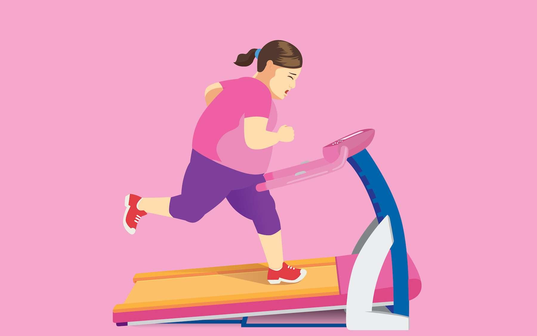 Les personnes en surpoids doivent fournir beaucoup plus d'efforts que les autres pour maigrir. © logo3in1, Adobe Stock