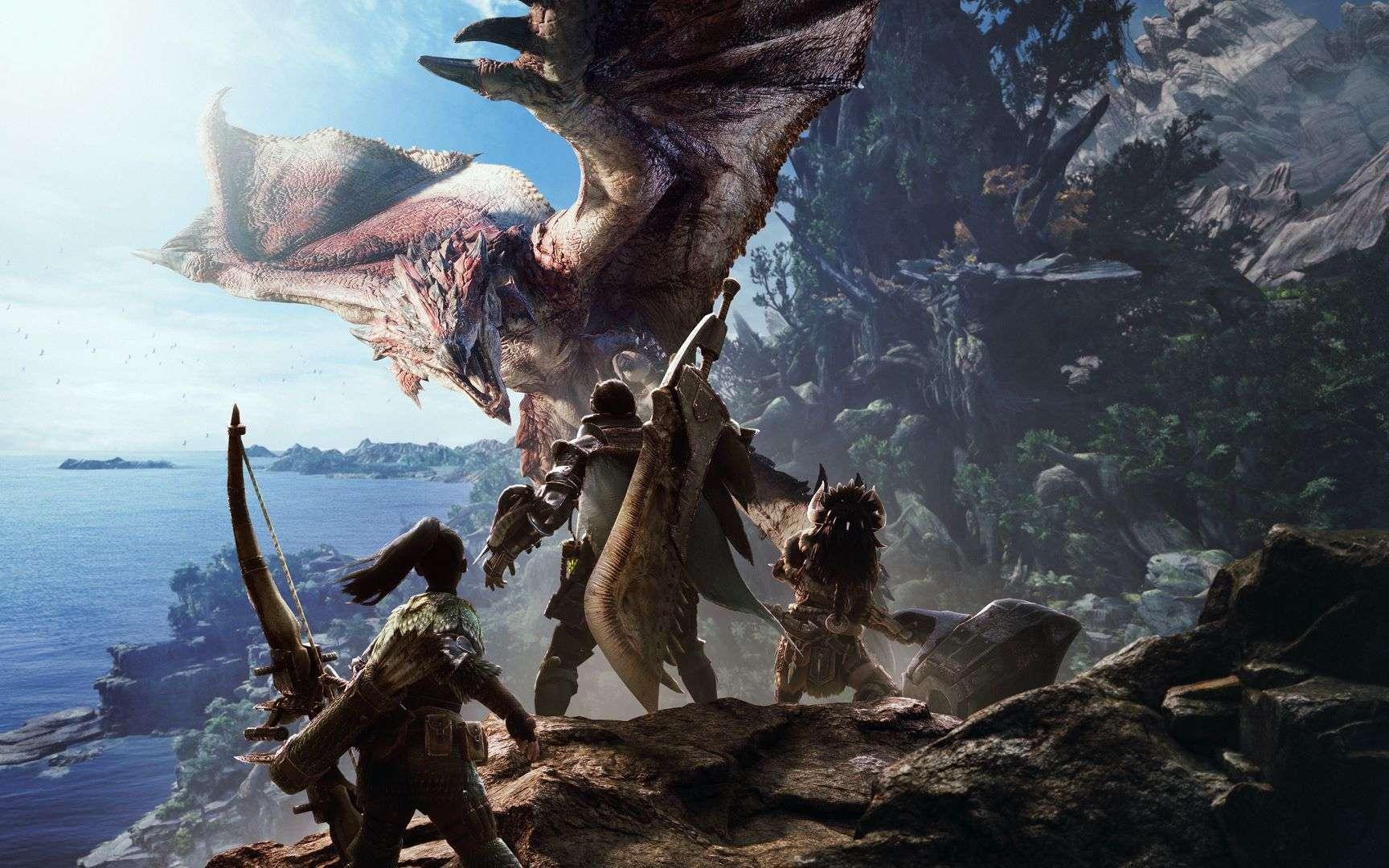 À l'image de Monster Hunter World, l'année écoulée nous a réservé de bonnes surprises. © Capcom Co.