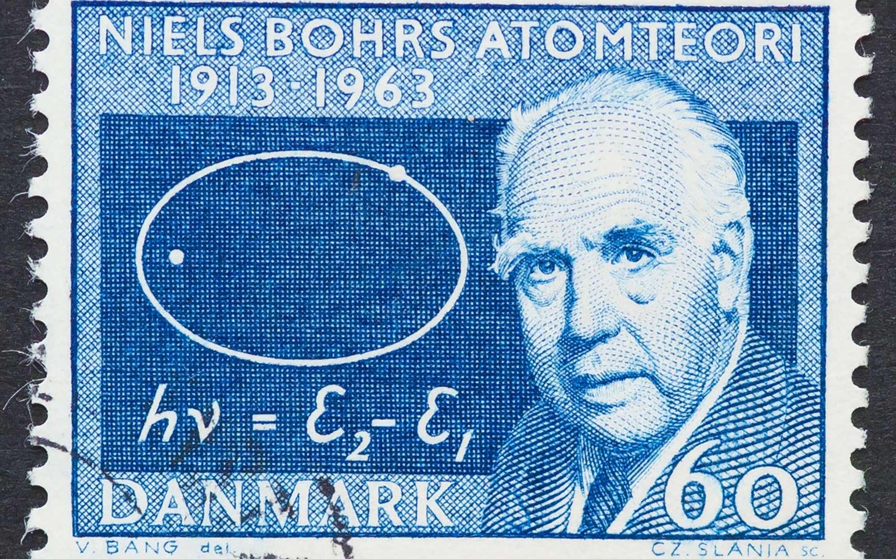 Niels Bohr est le physicien qui donna son nom au bohrium. © catwalker, Shuterstock