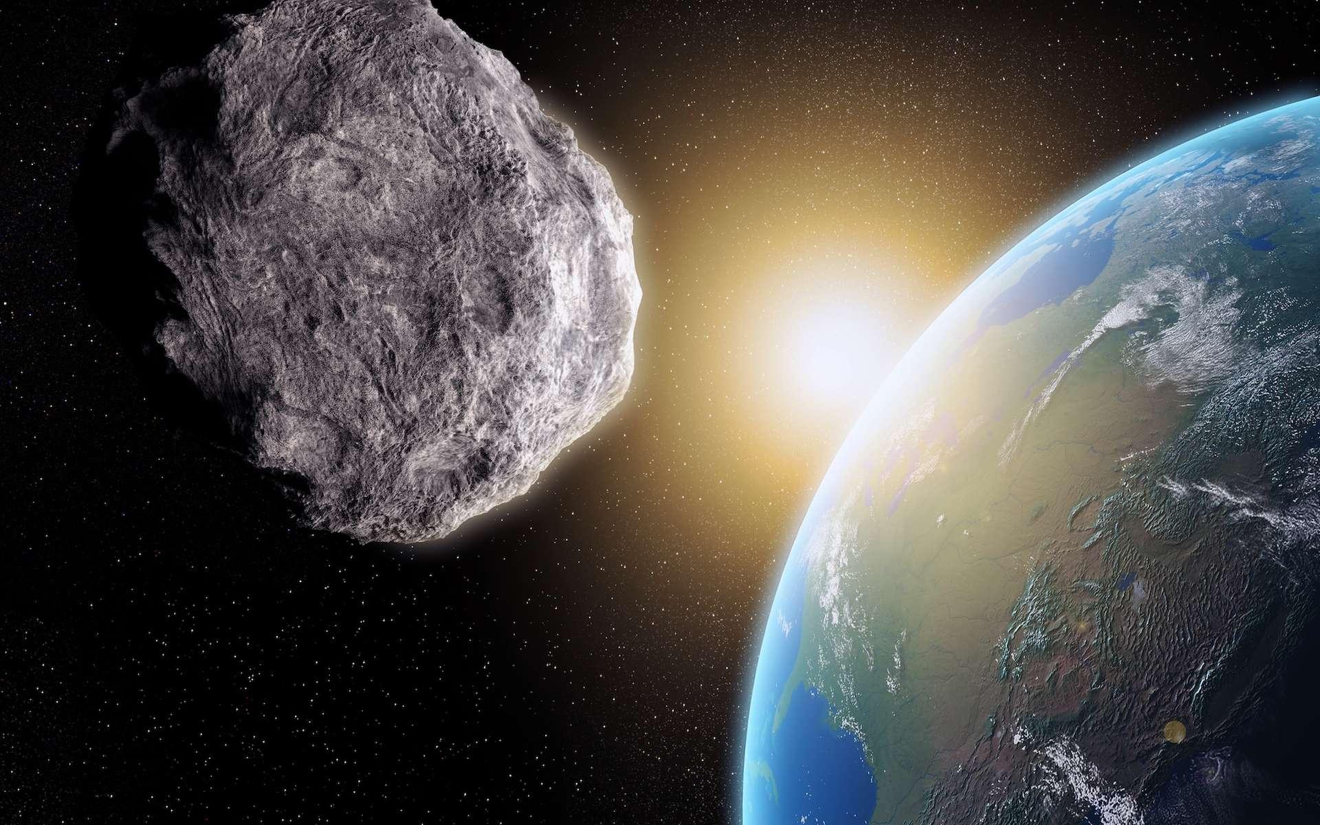 Durant quelques années et pour certains, plusieurs siècles, des astéroïdes qui croisent l'orbite de la Terre viennent lui tenir compagnie. Ce sont des quasi-satellites. © Mopic, shutterstock.com