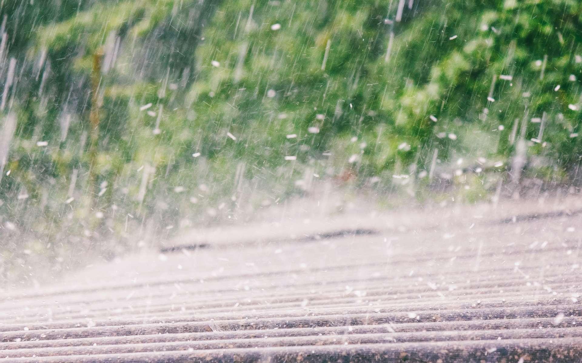 Une averse de grêle dure rarement plus de 10 minutes. © Andrey Solovev, Adobe Stock
