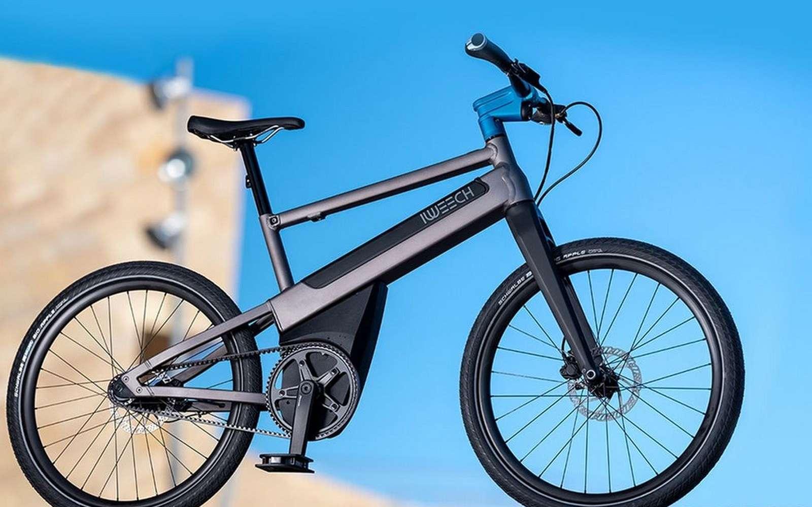 Le vélo à assistance électrique iWeech. © iWeech