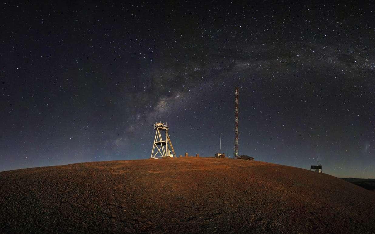 Le site chilien de Cerro Armazones où sera construit le télescope géant de 42 mètres de l'ESO. Crédits ESO/S. Brunier