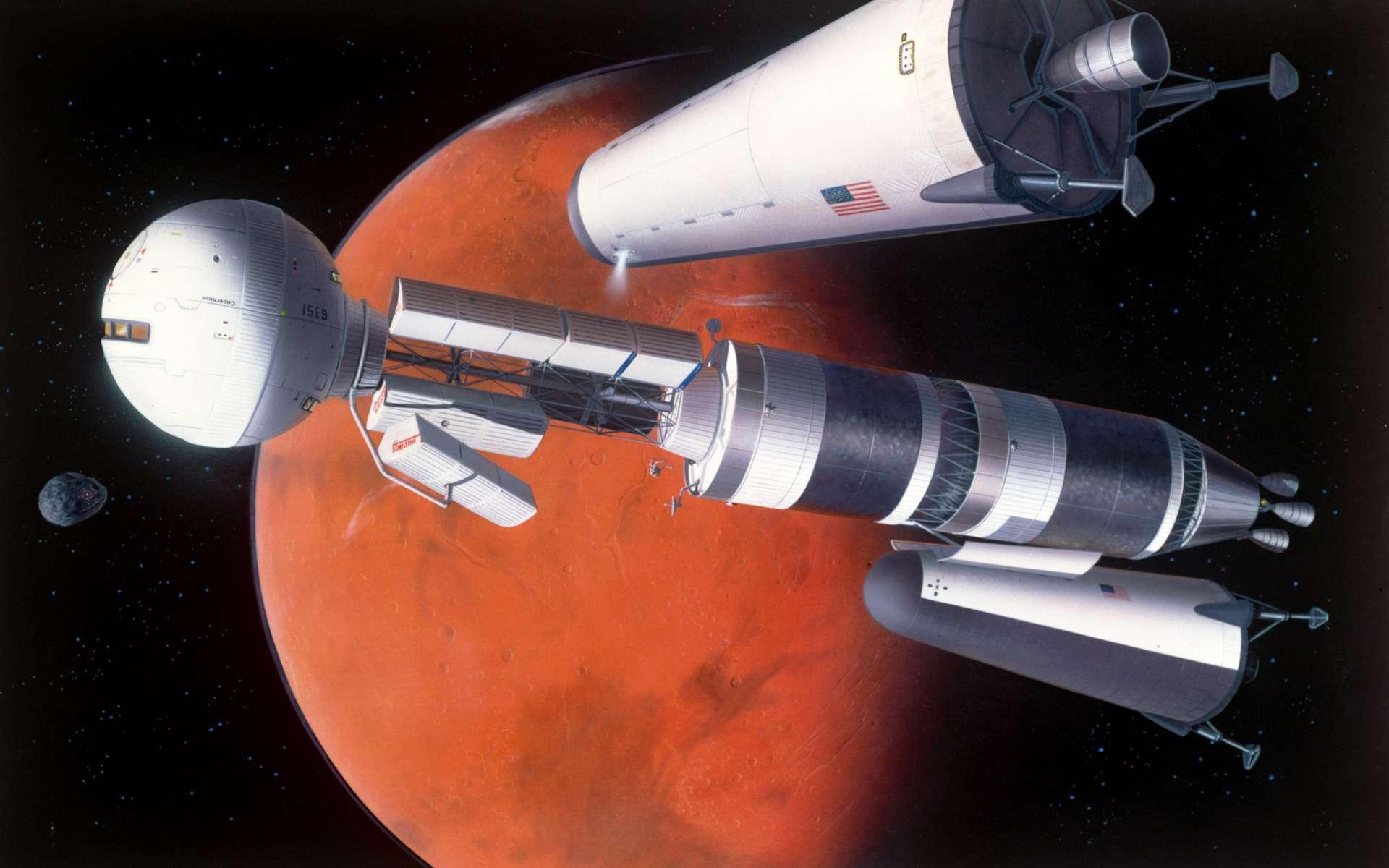 La Nasa développe un nouveau type de détecteur qui rendra plus fiable l'identification des neutrons dans le flux de radiations diverses en provenance de l'espace profond, afin d'aider à protéger les futurs astronautes des vols habités. © Nasa/Johnson Space Center