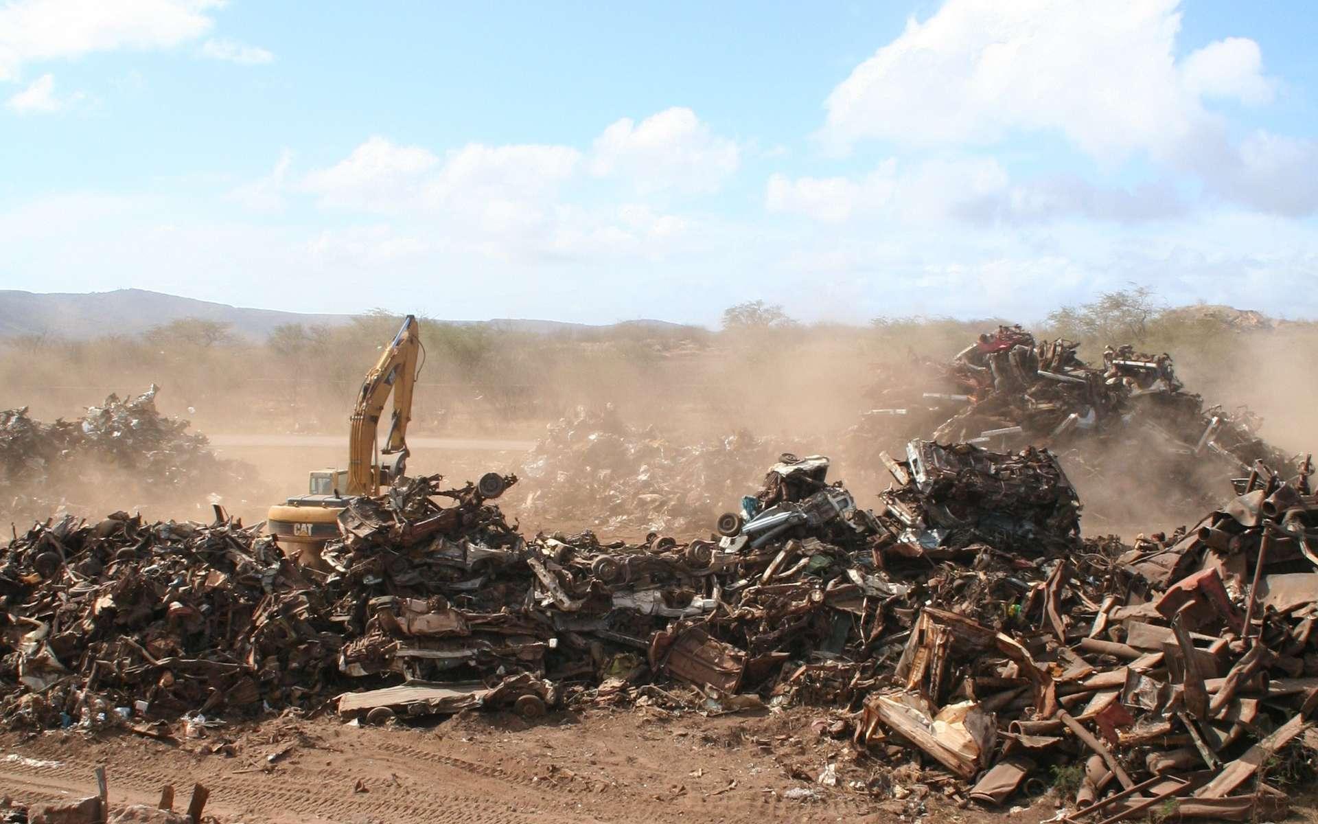 En Afrique subsaharienne, le volume de déchets devrait tripler d'ici 2050. © Kate Gardiner, Flickr