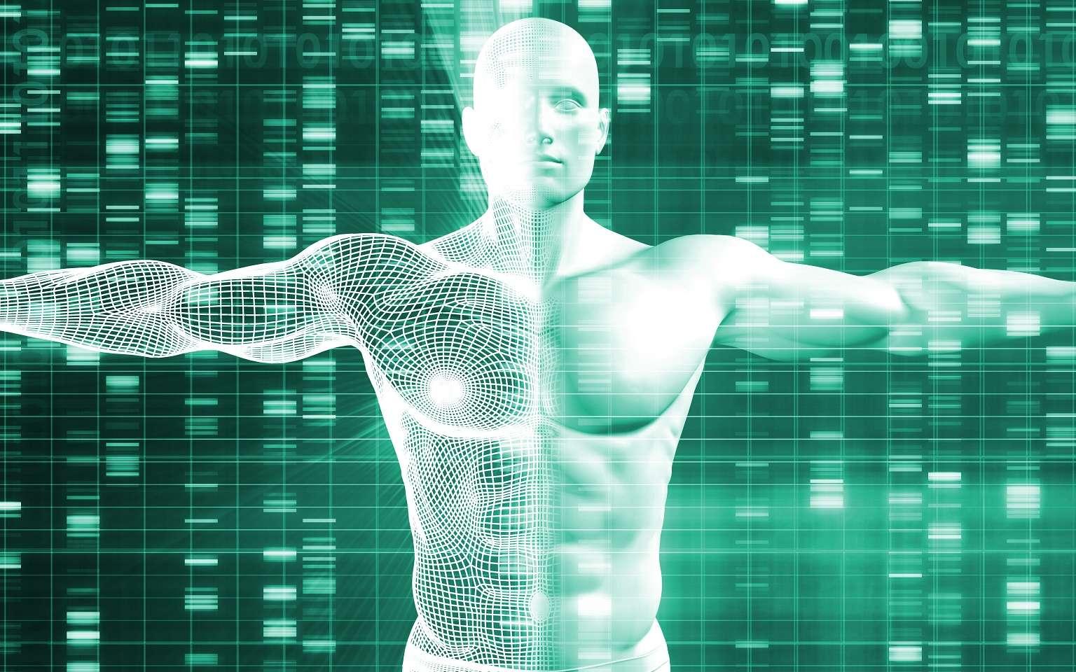 Le génome humain de synthèse est–il pour bientôt ? © kentoh, Shutterstock