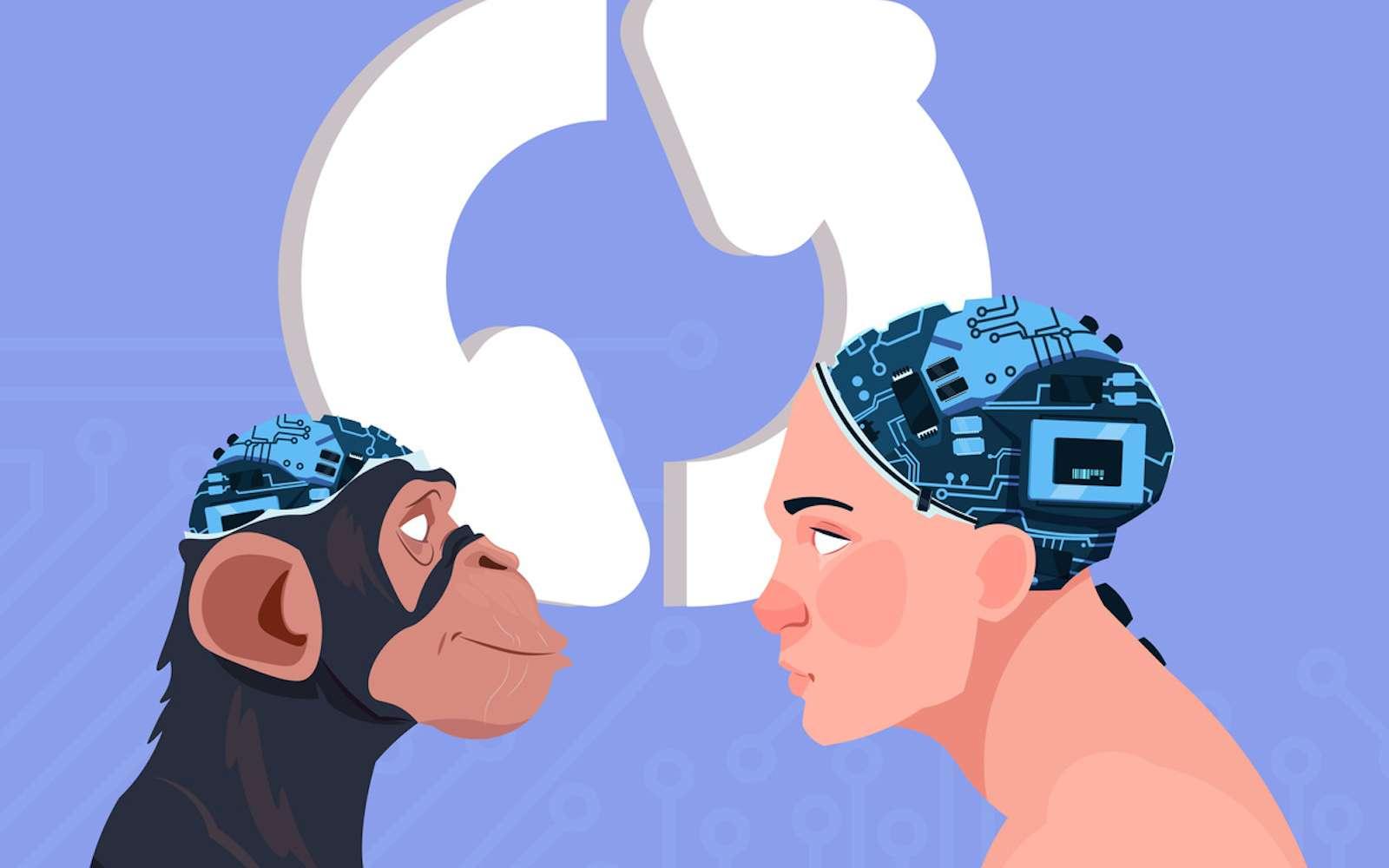 Peut-on rendre un singe plus intelligent avec un gène humain ? © mast3r, Fotolia