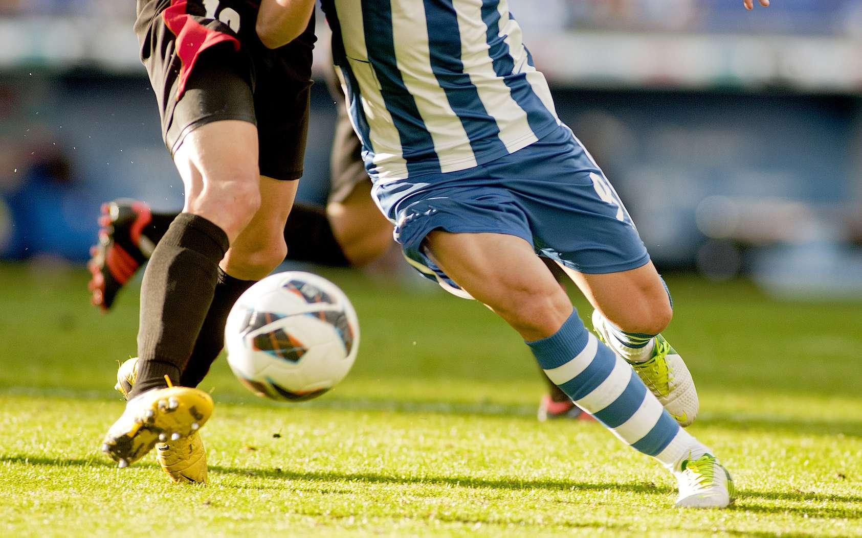 Les techniques des footballeurs pour récupérer après les matchs. © Maxisport, Fotolia