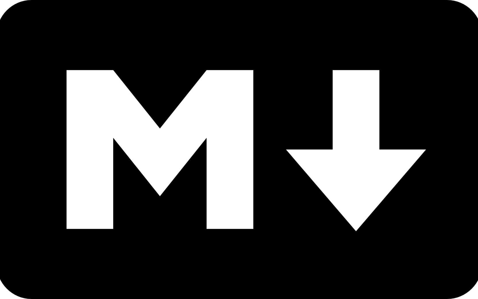 Logo Officiel Markdown. © Github.io