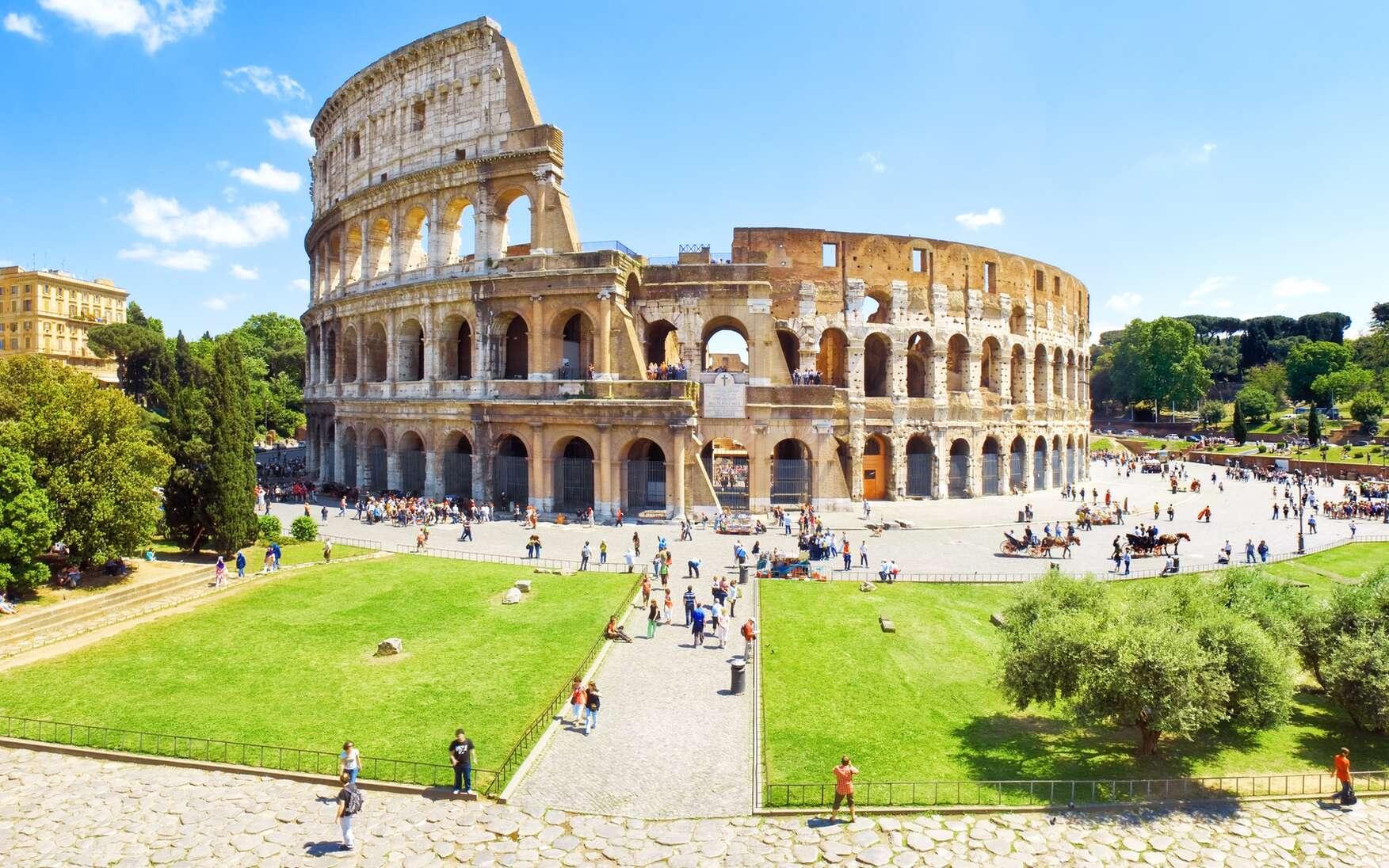 Rome et ses monuments célèbres. © fabiomax, Fotolia