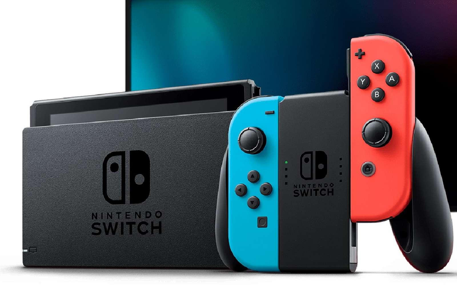 Un bout de carton placé derrière le composant électronique du joystick suffit à régler le problème du Joy-Con Drift sur la Switch. © Nintendo