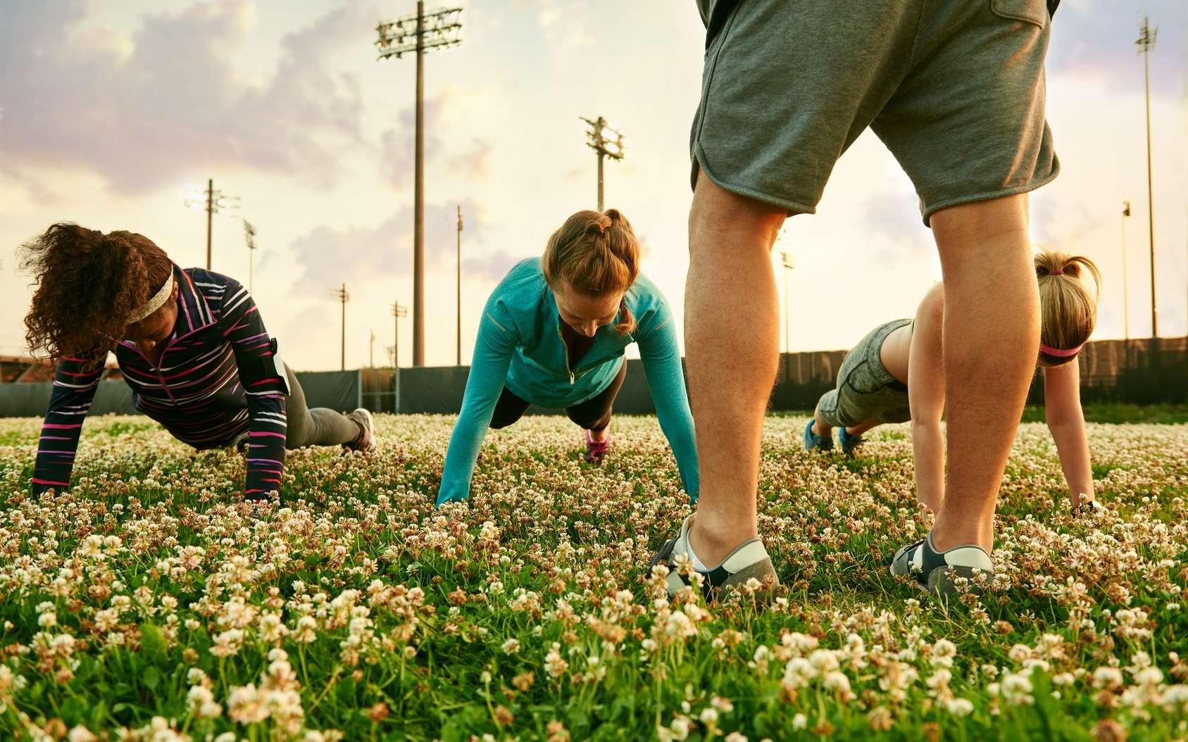 L'interval training alterne de courtes périodes d'effort intense et des périodes de récupération. © Julie, Fotolia