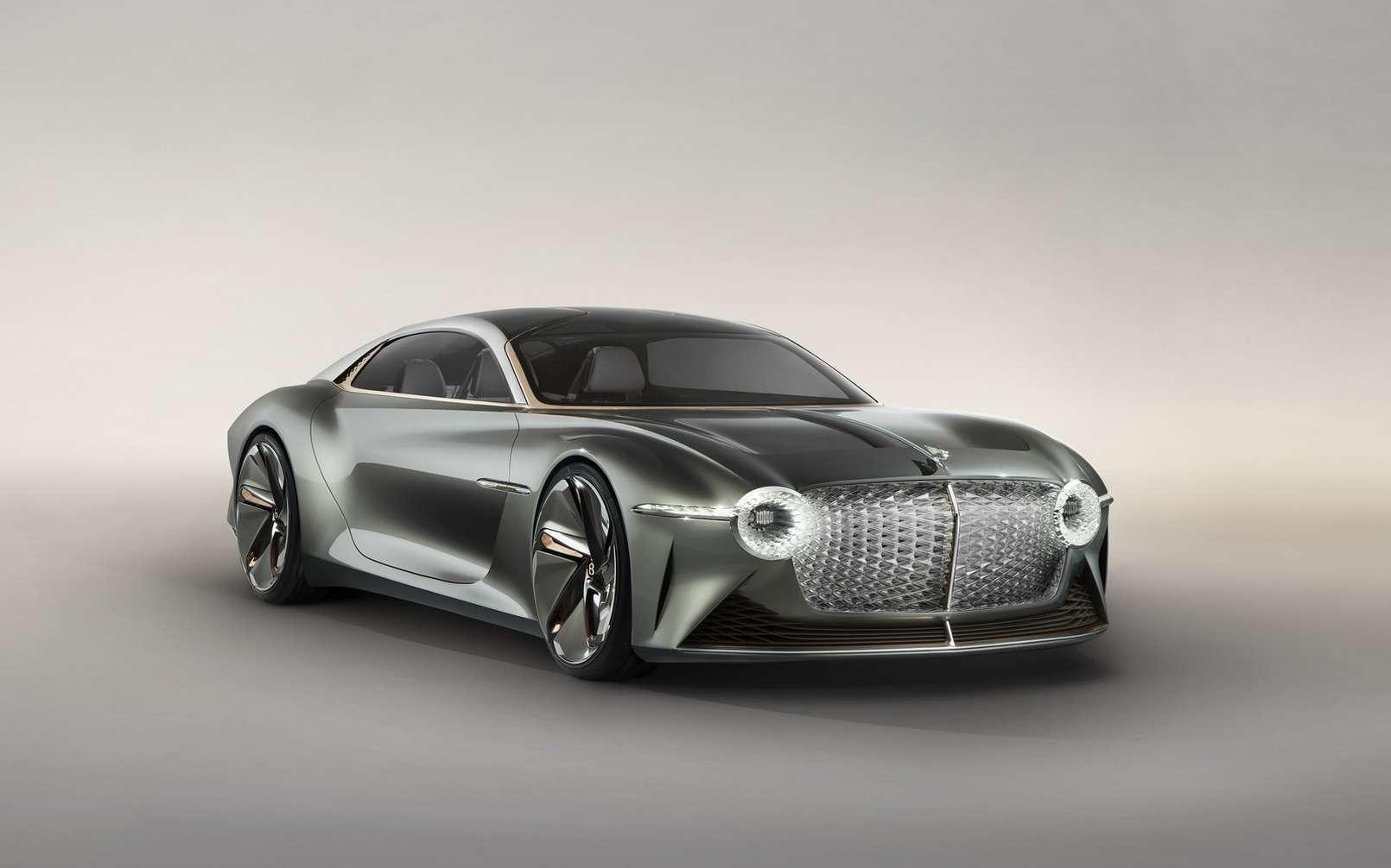 La Bentley EXP 100 GT. © Bentley