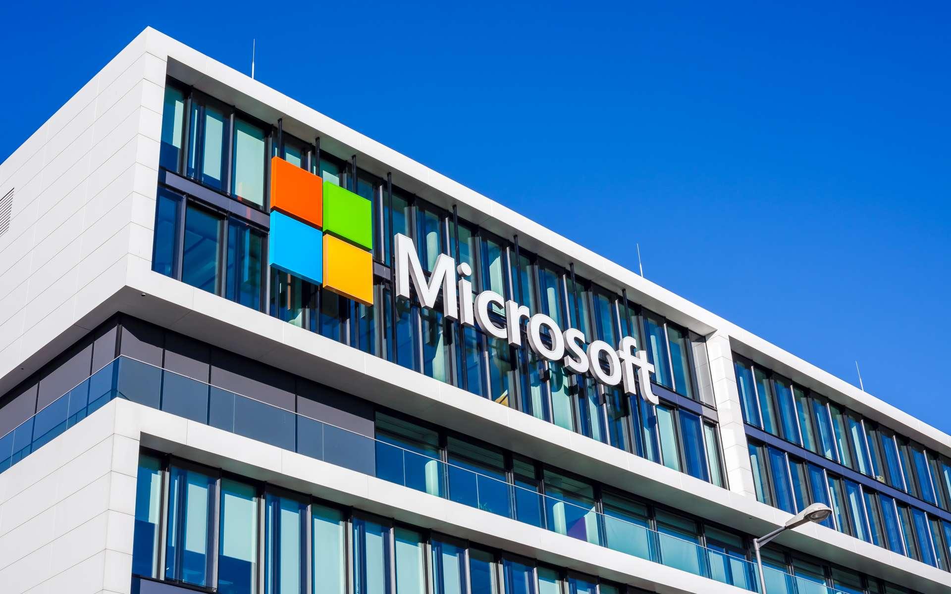 Le nouveau brevet de Microsoft porte sur la création d'une IA capable de se faire passer pour une personne spécifique. © dvoevnore, Adobe Stock