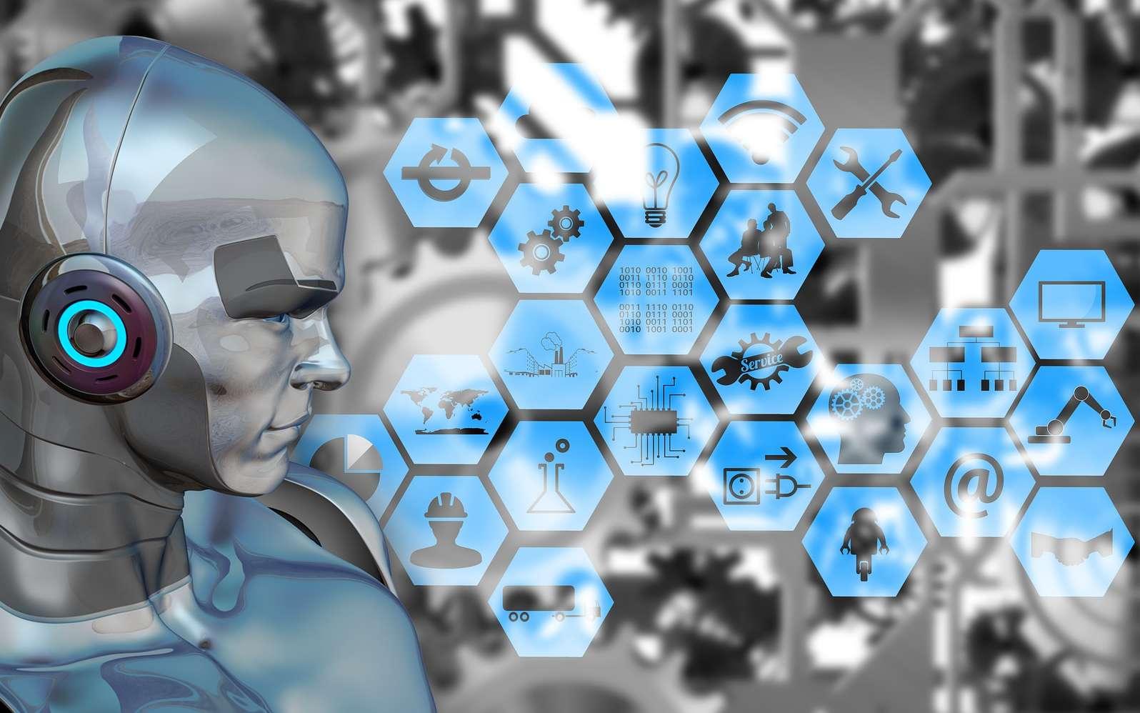 Près d'un milliard d'euros pour développer les technologies d'homme augmenté mais aussi protéger la planète et booster les capacités de l'intelligence artificielle. © Geralt, Pixabay