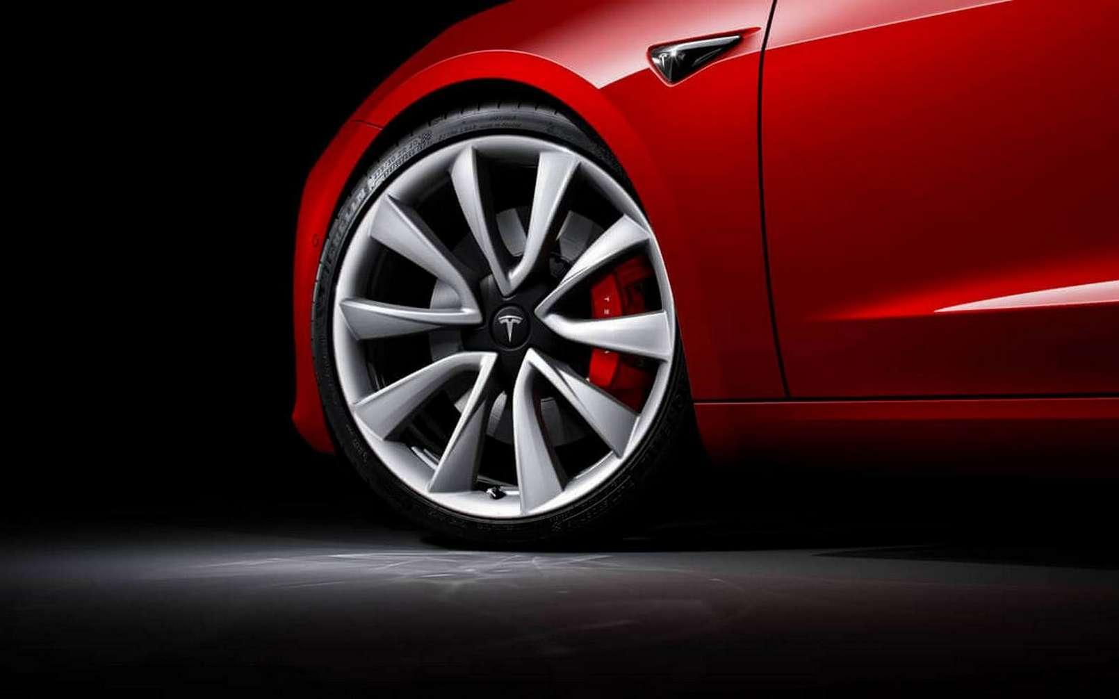 La Tesla Model 3 arrive en France à partir de février. © Tesla
