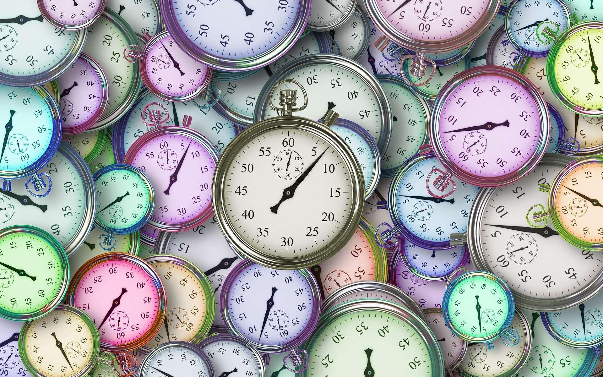Dans les cellules, des molécules horlogères contrôlent le rythme circadien de l'activité cellulaire. © geralt, Pixabay, CC0